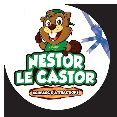 Nestor le Castor, partenaire du marché de Noël à L'Isle-sur-La-Sorgue